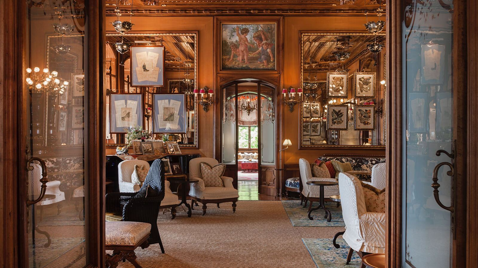 Grand Hotel a Villa Feltrinelli - The Lounge area