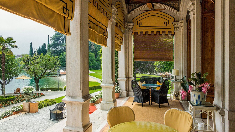 Grand hotel a Villa Feltrinelli - The Villa, the pool and lake sight